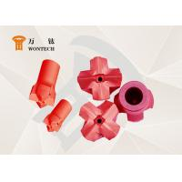 China Geological Exploration Taper Button Bit Steel Easy Operation Corrosion Resistance factory