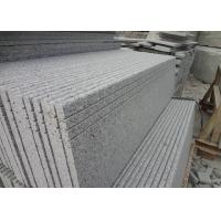 Chinese Popular Sesame White Stone Porch Steps / Natural Stone Slab Steps