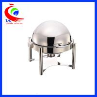 China Hotel Round Buffet Bain Marie Food Warmer Hot Pot Chafing Dish Roll - top factory