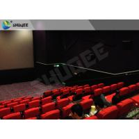 China High Definition High End Home Cinema With Safety System For Holding 50 People factory