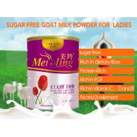 China Milky White Anti Aging Adult Lady Milk Powder No Sugar factory