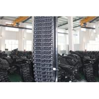 China Rubber and Steel Tank Tracks , High Running Speed ,Construction  B320*86ZZ*54 factory