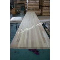 China Iroko solid wood panel finger jionted panels countertops table tops butcher block tops kitchen tops on sale