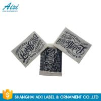 China Durable Eco - Friendly Clothing Tabel Tags With OEM Design Acceptable factory