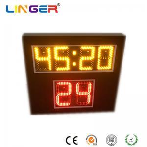 China Led Digital Shot Clock For Scoreboard , Basketball Shot Clock 545mm X 600mm X 90mm factory