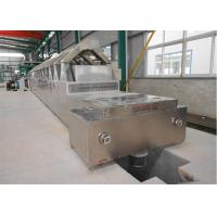 China Microwave Tunnel Oven Belt 200℃ Industrial Food Drying Machine on sale