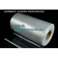 China Plastic Cover films on roll, laundry bag, garment cover film, films on roll, laundry sacks factory