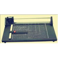 Buy cheap Heavy Duty Paper Cutter Machine , Guillotine Card Cutter Metal Base Plate from wholesalers