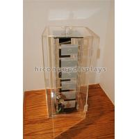 Buy cheap Rotating Jewelry Acrylic Display Case , Plexiglass Lucite Acrylic Tower Showcase from Wholesalers