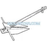 Molastar Stainless Steel Marine Danforth Anchor Offshore Anchor  Easy Handling Steel Anchor For Marine