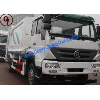Buy cheap 20m3 Compactor Garbage Collection Truck , Two Axles Rubbish Truck from Wholesalers