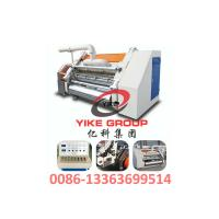 Buy cheap Single Faced Corrugated Carton Machine 1400-1800mm Width Hard Chrome Material from Wholesalers