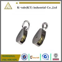China factory hot Sales Small Metal Pulley With Plastic Wheel Pulley