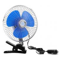 China CE Standard Car Cooling Fan 12V / 24V Voltage With One Year Warranty factory