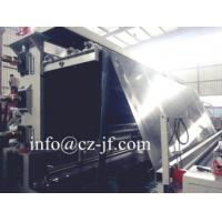 China 4-8 meters MDPE Geomembrane Extrusion Line factory