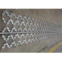 Buy cheap Custom Hot Dipped Galvanized Welded Barbed Wire Mesh Protection Fence Panel from Wholesalers