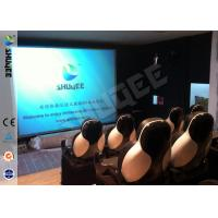 China 5D Durable Movie Cinema Motion Chair 2 Seats / set With Vibration / Jet And Shift factory