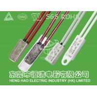 China Bimetallic Thermal Protection Switch , Motor Temperature Protection Switch on sale
