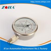 Pressure Gauge All Stainless Steel Double Scale Hot Selling to Korea