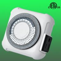 Buy cheap US single outlet 24hours mechanical timer from wholesalers