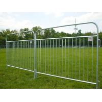 Buy cheap Pedestrian Barricade Temporary Fencing Barrier , Galvanized Steel Welded Wire Fence from Wholesalers