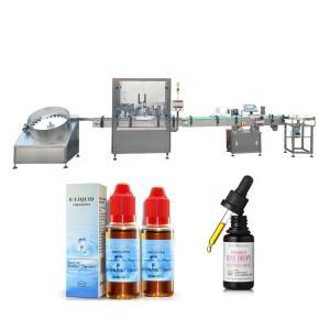 China Touch Screen E liquid Filling Machine / Two Heads Glass Bottle Filling Machine factory