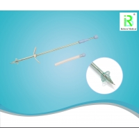 Buy cheap Urethral Bladder Drainage Suprapubic Cystostomy Catheter F18-23 from wholesalers