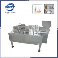 China 1ml ampoule bottle filling  and sealing machine with 8 filling heads factory