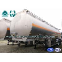 Dongfeng Aluminum Alloy Diesel Oil Tank Tri Axle Trailer 180 HP 12R22.5