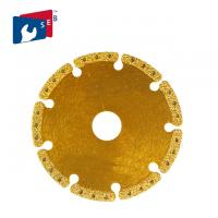 Buy cheap Multi Purpose Metal Cutting Diamond Blade , Aluminum Cast Iron Saw Blade from Wholesalers