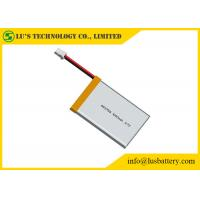 China 3.7V Lithium Ion Polymer Battery Pack 1000mah LP453759 Lithium Polymer Cell 3.7v 1000mah rechargeable cell on sale
