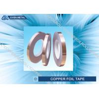China Self Adhesive EMI Shielding Copper Foil Tape With ROHS , SGS , CTI Certificate factory