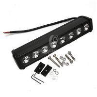 Buy cheap Portable Off Road LED Light Bars For Trucks 80w Energy Saving Cree Chip from Wholesalers