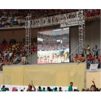 Buy cheap Indoor SMD 3 in 1 Led Stage Backdrop Screen P7.62 1 / 8 Scan IP45 220V / 50Hz from wholesalers
