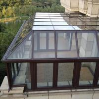 China Residential Aluminum Sun Room Free Standing For Winter Garden / Glass House factory