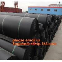 China 0.8mm pond liner hdpe fish pond geomembrane,Composite Geomembrane for fishing pond,Polyester Needle Punched Nonwoven Geo factory