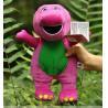 25cm Soft Purple Barney Stuffed Cartoon Plush Toys for Collection