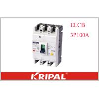 China KRIPAL UKM30L-100S 3P CE Leakage / Residual Current Molded Case Circuit Breaker Earth Leakage ELCB Non delay type on sale