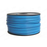 China Blue Round 3MM PLA Filament Rapid Prototyping For Cubify UP , 3D Printer Filament factory