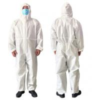 China Airy Disposable Protective Clothing For Clean Room / Pharmaceutical Industry factory