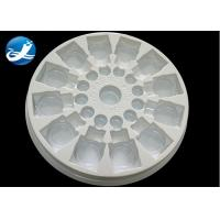 Quality Plastic Vacuum Forming Plastic Process PVC Clear And White Blister Packaging for sale