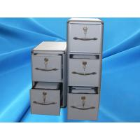 China Portable Hard Fabric Vinyl Record Storage Cases Aluminum for CD / DVD Classify on sale