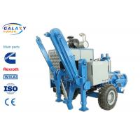 China 2.5km/H Electrical Cable Pulling Equipment , 4800kg Hydraulic Cable Puller factory