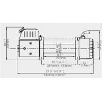 Buy cheap 12V Electric Reliable Winch CE offered from Wholesalers