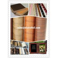 China Wood grain transfer foil factory