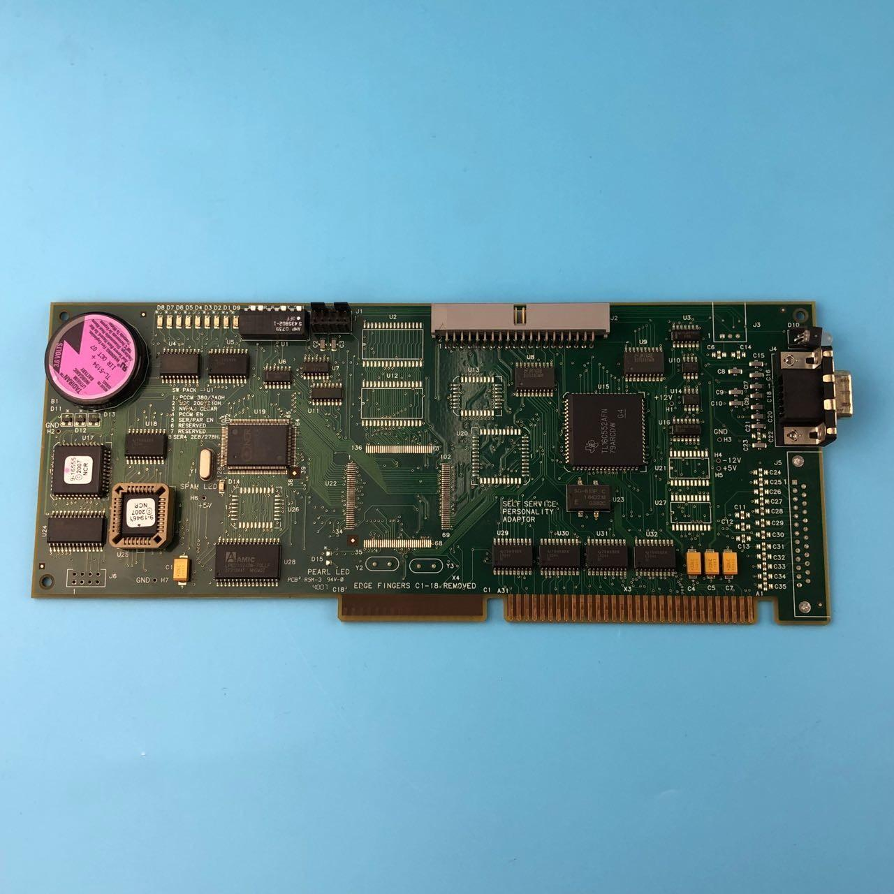 China Plastic Material Ncr Atm Spare Parts 4450704787 NCR SSPA Board ISA 445-0704787 factory