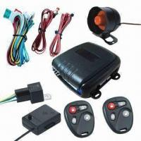 China Valet Mode Car Alarm System with Positive and Negative Side-door Triggering factory