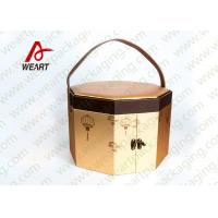 Long Handled Decorative Gable Boxes , Christmas Cardboard Boxes With Lids ODM