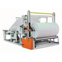 Buy cheap Automatic Jumbo Paper Roll Slitter Rewinder Electronic Speed Regulation from Wholesalers