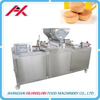 Buy cheap Multifunctional Cake Production Line 8-10kgf/Cm2 Air Pressure Stainless Steel Frame from Wholesalers